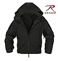 Rothco 9767 Black Special Ops Soft Shell Jacket