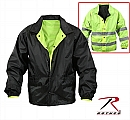Rothco 8728 Reversible Hi-Visibility Lightweight Duty Jacket