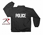 Rothco 7646 Police Imprinted Fleece-Lined Coaches Jacket