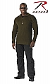 Rothco 3370 Olive Drab 1/4 Zip Commando Sweater