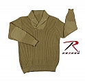 Rothco 5349 WWII Khaki Vintage Mechanics Sweater