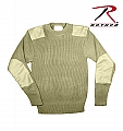 Rothco 8346 Gov't Type Khaki Acrylic Commando Sweater