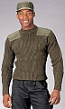 Rothco 6348 Gov't Type O.D. Wool Commando Sweater