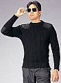 Rothco 6359 Gov't Type Black Wool Commando Sweater