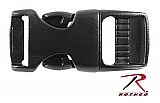 "Rothco 204 5/8"" Black Side Release Buckle"