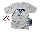 Rothco 6650 Genuine NYPD Physical Training T-Shirt