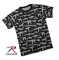 Rothco 66350 Vintage Black 'Guns' T-Shirt