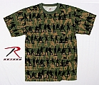 Rothco 66250 Vintage Camouflage 'Soldier' T-Shirt