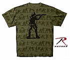 Rothco 66950 O.D. 'Soldier' T-Shirt w/Large Silhouette