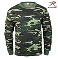 Rothco 6100 Camouflage Thermal Knit Tops