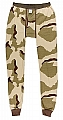 Rothco 5102 Tri-Color Desert Camo Thermal Knit Bottoms