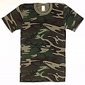 Rothco 6200 Camouflage Short Sleeve Thermal Knit Tops