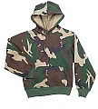 Rothco 6490 Kids Woodland Camo Hooded Pullover Sweatshirt