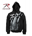Rothco 2096 Vintage 'Make It Rain' Zipper Sweatshirt