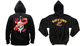 Rothco 80253 Marines 5-Color Skull/Ribbon Hooded Pullover Sweatshirt