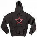 Rothco 9245 Black Red China Star Hooded Pullover Sweatshirt