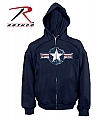 Rothco 2078 Vintage Navy Blue 'Air Corp' Sweatshirt