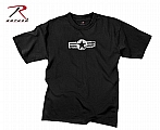 Rothco 66650 Vintage Black Army Air Corp T-Shirt