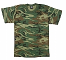 Rothco 6703 Kids Woodland Camouflage T-Shirt