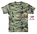 Rothco 8777 Mens Woodland Camouflage T-Shirt