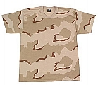 Rothco 66706 Kids Tri-Color Desert Camo T-Shirt