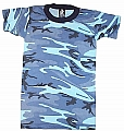 Rothco 6707 Kids Sky Blue Camo T-Shirt
