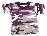 Rothco 6743 Kids Ultraviolet Camouflage T-Shirt
