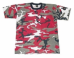 Rothco 6006 Red Camouflage T-Shirt