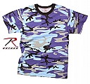 Rothco 60173 Electric Blue Camouflage T-Shirt