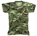 Rothco 7605 Vintage Kid's Woodland Camouflage T-Shirt