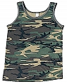 Rothco 6702 Camouflage Tank Top