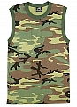 Rothco 6700 Camouflage Muscle T-Shirt