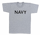 Rothco 60010 Navy Grey Physical Training T-Shirt