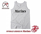 Rothco 60052 Marines Grey Physical Training Tank Top
