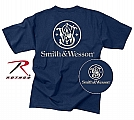 Rothco 3604 Navy Blue Smith & Wesson Logo T-Shirt