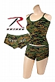 Rothco 3977 Womens Woodland Digital Camo 'Booty Camp' Short