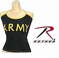 Rothco 4475 Womens Black Army Casual Tank Top