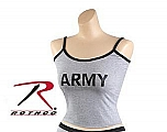 Rothco 4680 Womens Grey 'Army' Tank Top