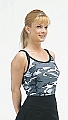 Rothco 8019 Womens City Camo Ribbed Spaghetti Strap Tank Top