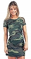 Rothco 8011 Womens Woodland Camouflage Ribbed Cotton Tee