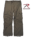 Rothco 3970 Womens Brown Vintage Paratrooper Fatigues