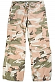Rothco 3996 Womens Pink Camouflage Vintage Paratrooper Fatigues