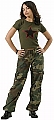 Rothco 3386 Womens Camouflage Vintage Paratrooper Fatigues