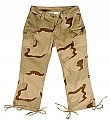 Rothco 1041 Womens Tri-Color Desert Camo Capri Pants