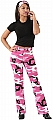 Rothco 3348 Womens Pink Camo Stretch Flare Pants