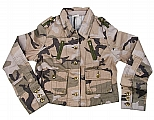 Rothco 1084 Womens Subdued Woodland Camo Vintage Jacket