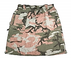 Rothco 1033 Womens Vintage Subdued Pink Camo Knee Length Skirt