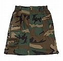 Rothco 1010 Womens Woodland Camo Knee Length Skirt