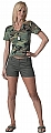 Rothco 3176 Womens Olive Drab Shorts