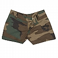 Rothco 3376 Womens Woodland Camo Shorts